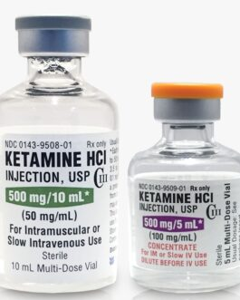 Buy Ketamine HCl (Ketalar®) 50mg/ml 10ml Multi-Dose