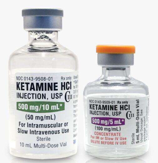 Buy Ketamine HCl (Ketalar®) 50mg/ml 10ml Multi-Dose
